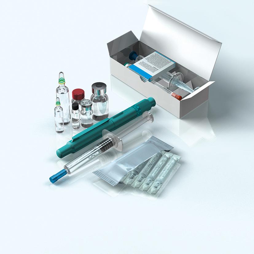 Umfangreiches Pharma-Portfolio