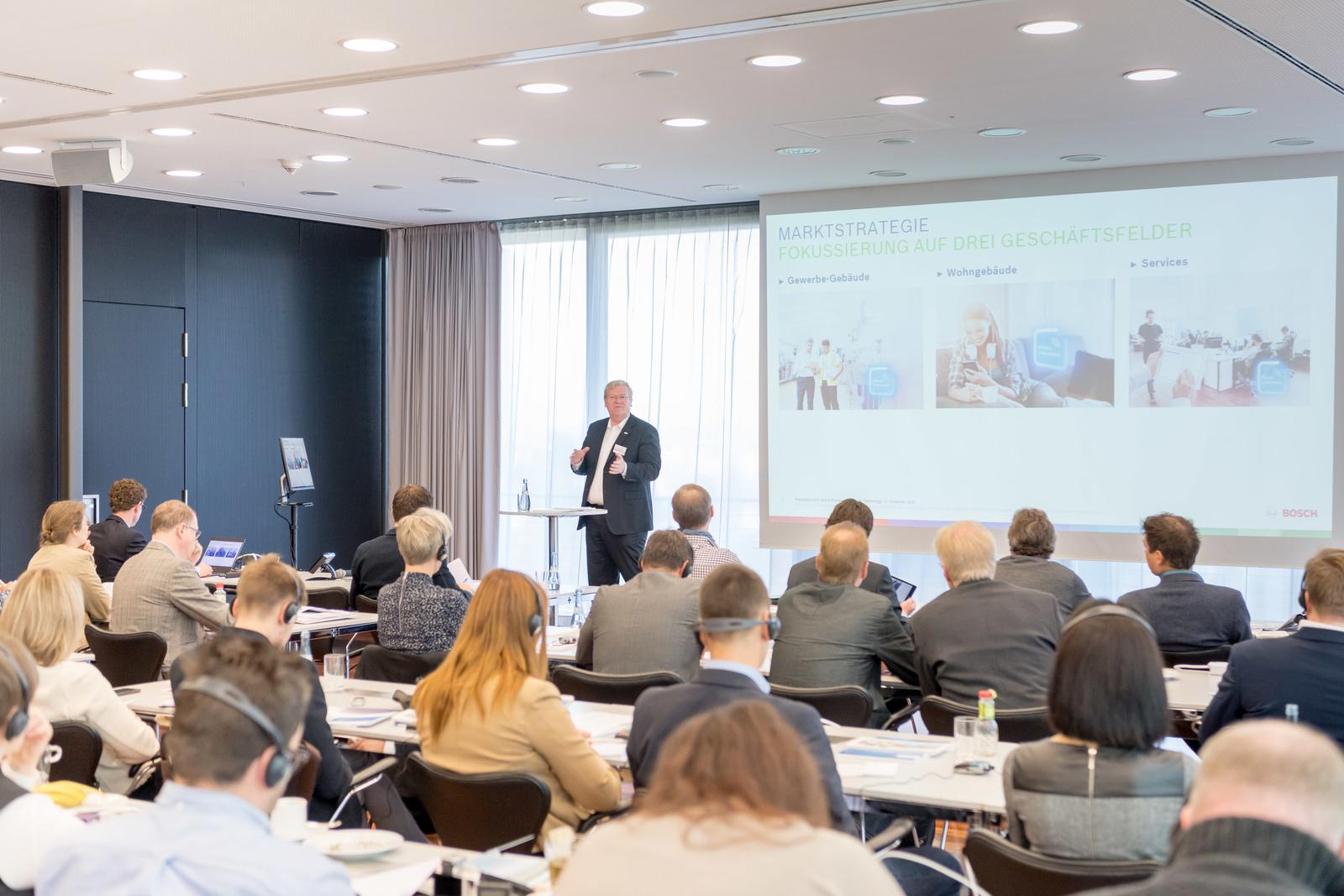 Pressegespräch Energie- und Gebäudetechnik 2016