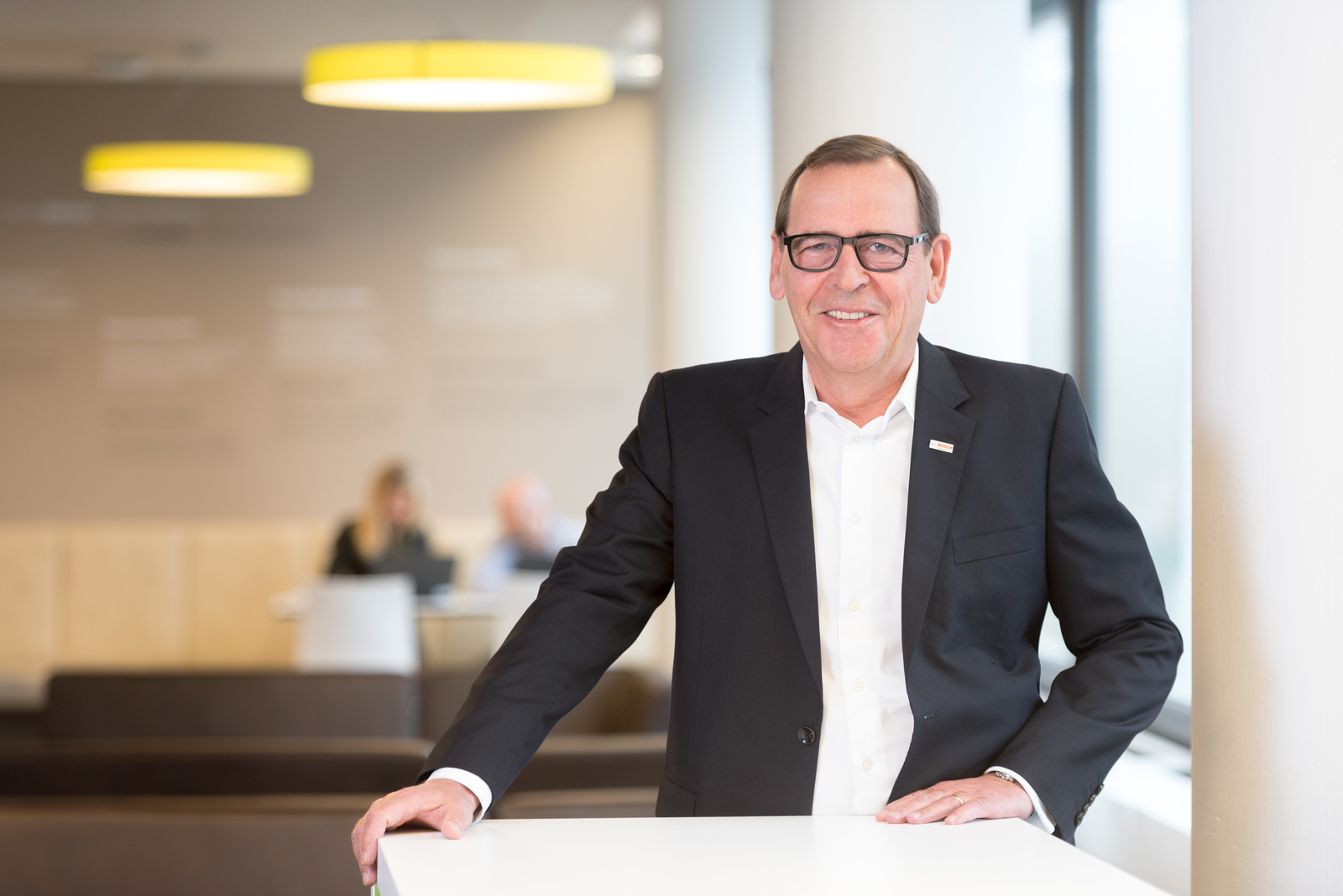 Peter Tyroller, the member of the Bosch board of management responsible for Asia Pacific