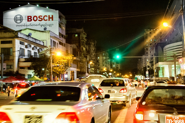 Myanmar is a promising market for Bosch.