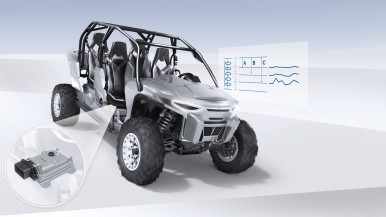 More riding comfort and safety with Bosch's semi-active damping control unit