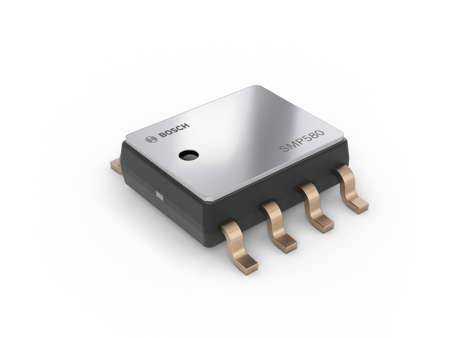 The new Bosch SMP580 barometric pressure sensor helps engine management systems reduce fuel consumption and emissions