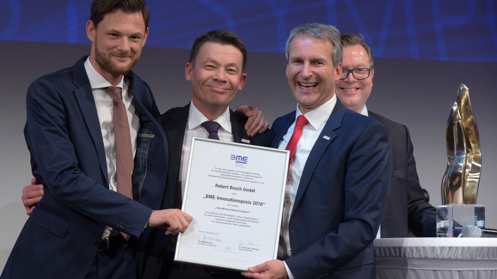 Bosch receives innovation award