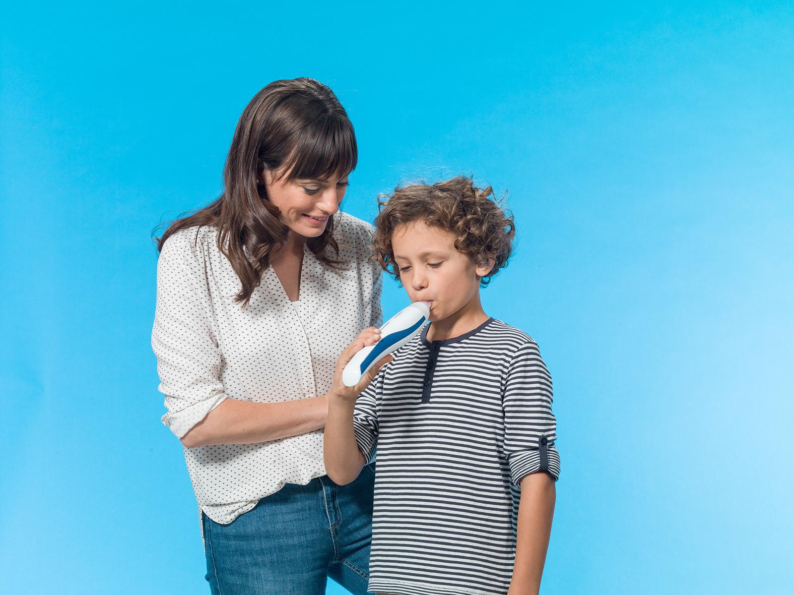 Vivatmo me – das weltweit erste Patientengerät für Asthmatiker