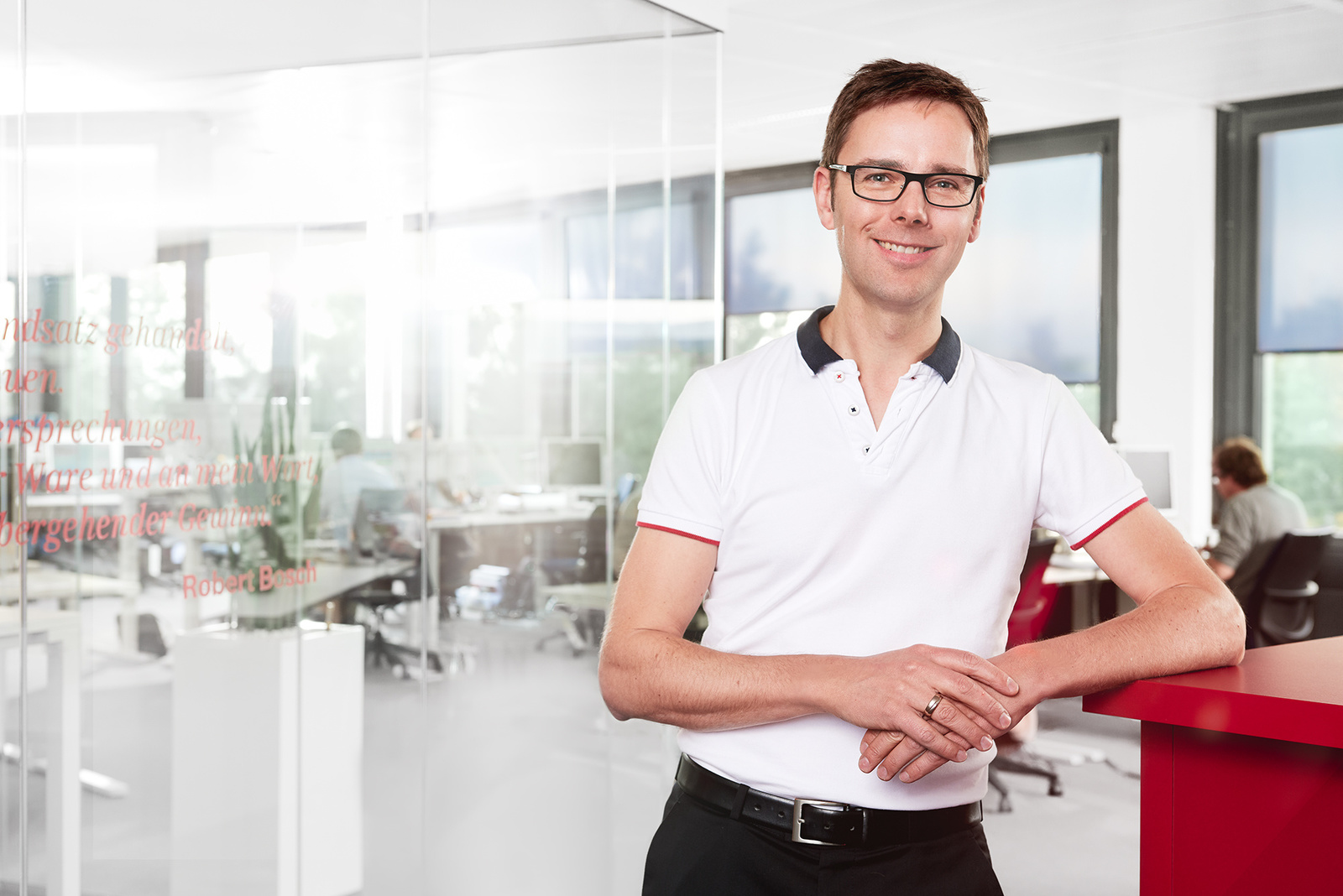 Roland Hüppmeier, responsible for connected life products at Bosch Healthcare Solutions GmbH