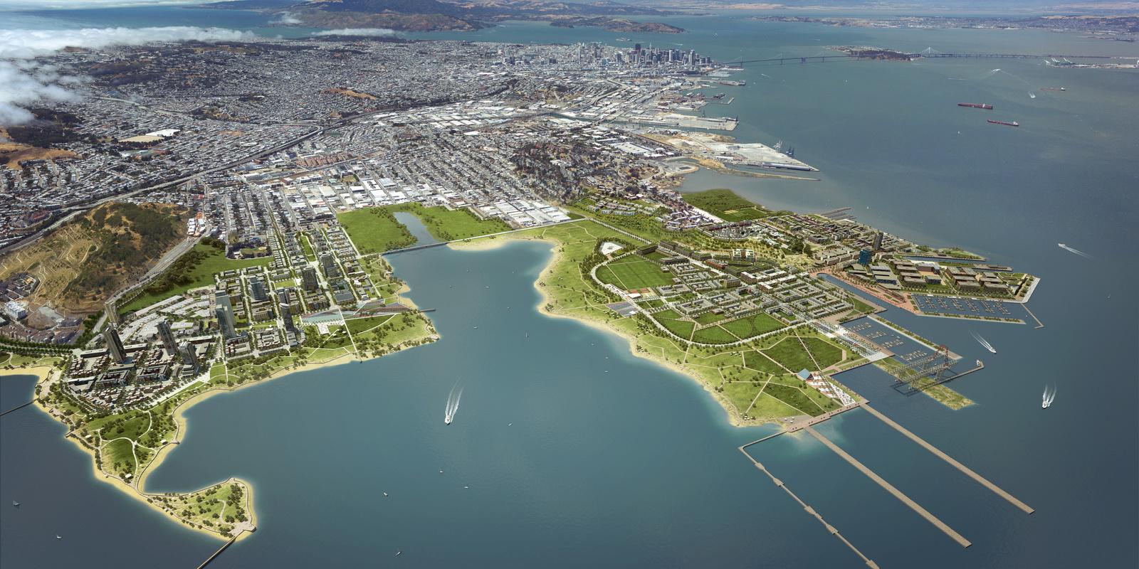 San Francisco Shipyard: smarte Technik von Bosch für neue Stadtteile