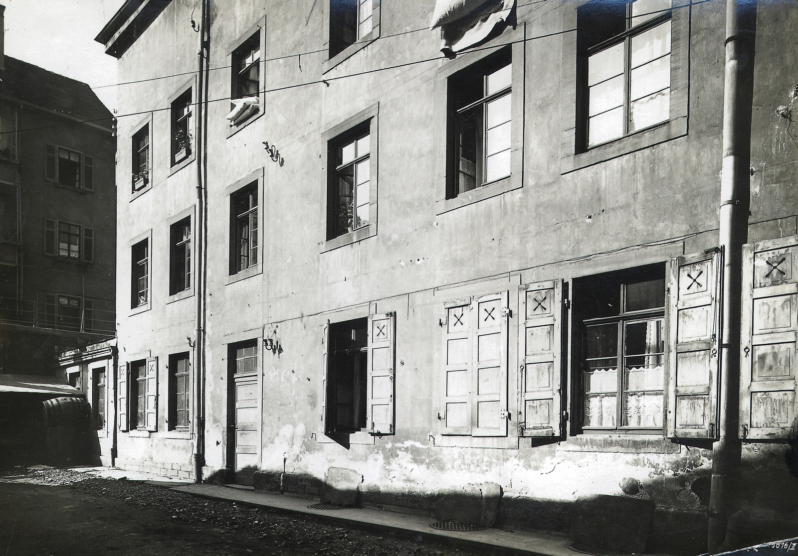 Bosch's first workshop in Stuttgart, 1886
