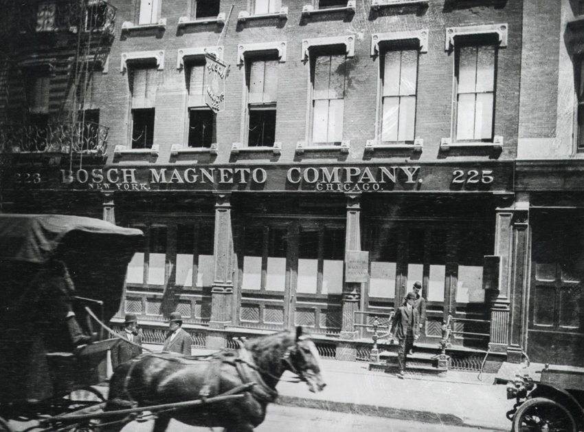 Bosch Magneto Company New York, USA, 1906