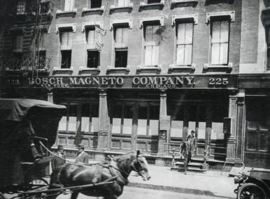 Bosch Magneto Company New York, USA, 1906