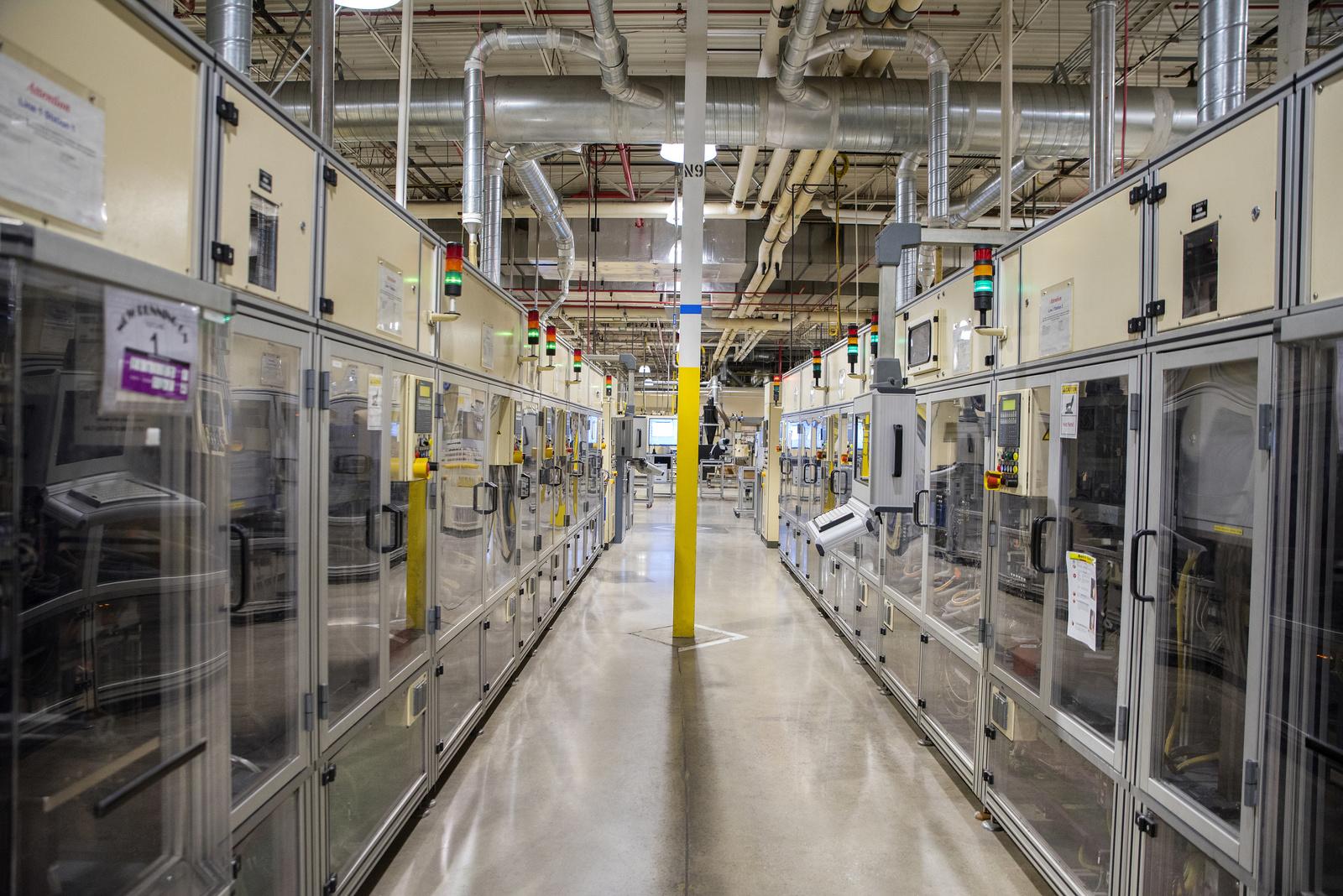 Industrie 4.0 im Werk Anderson, USA
