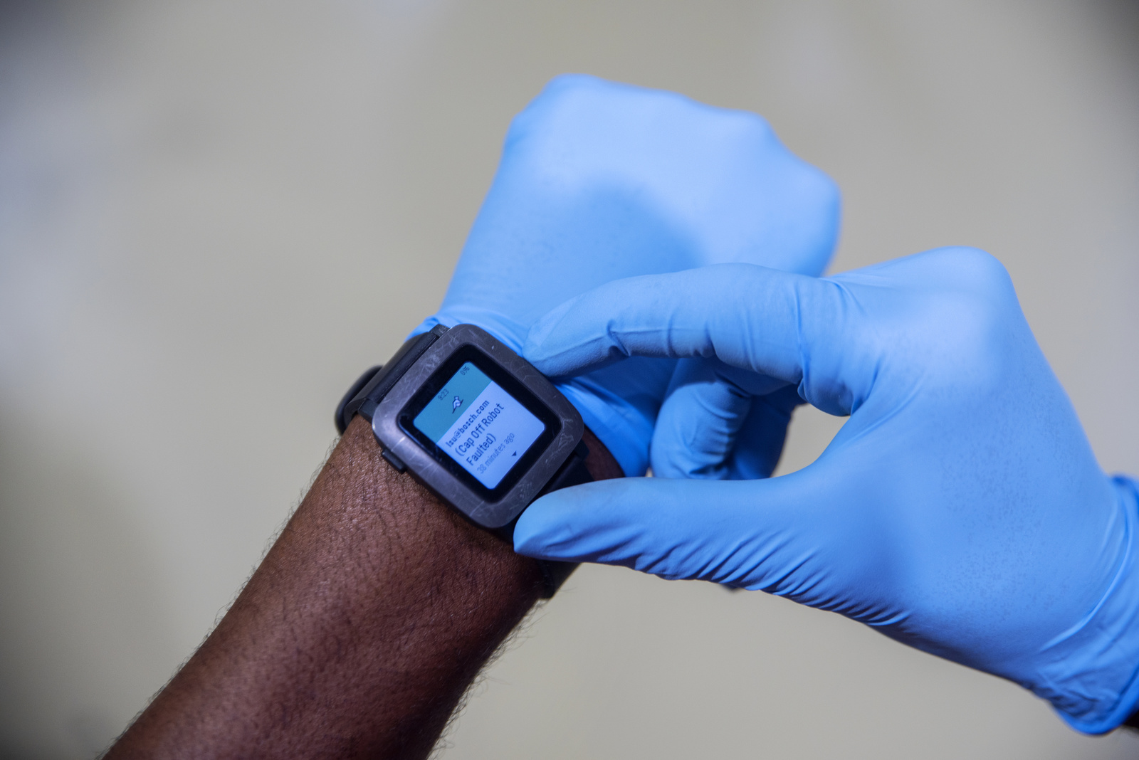 Smartwatches at Anderson plant, USA