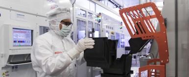 Schlüsseltechnologie für das Internet der Dinge: Bosch errichtet neues Halbleiterwerk in Dresden