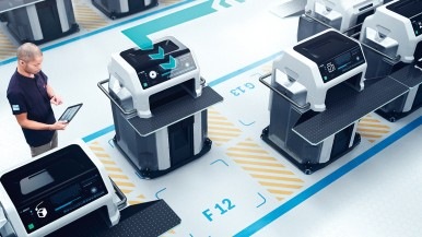 Bosch entwickelt mit internationalen Forschungspartnern neues modulares Produktionssystem