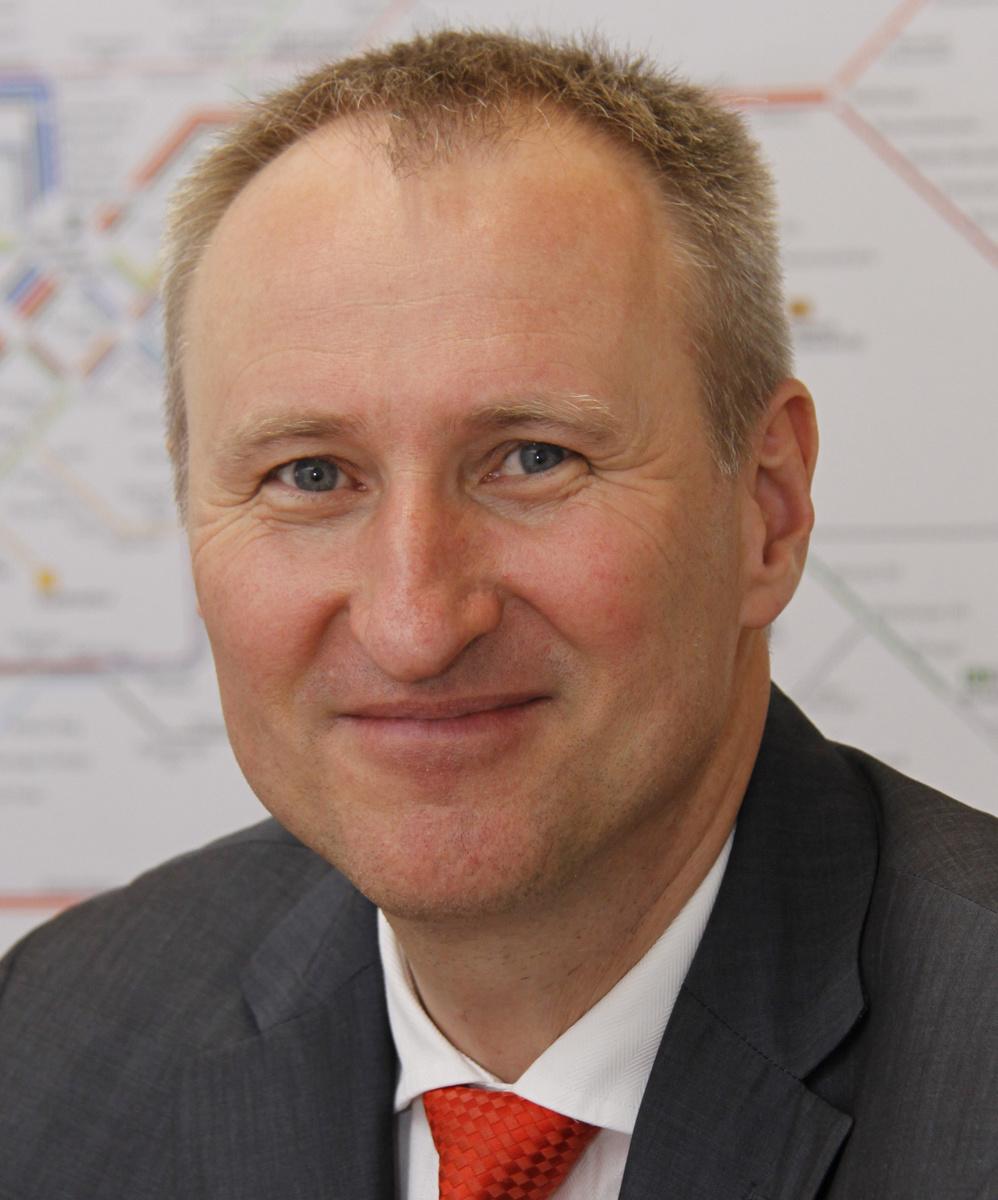 Horst Stammler, Geschäftsführer Verkehrs- und Tarifverbund Stuttgart GmbH (VVS)