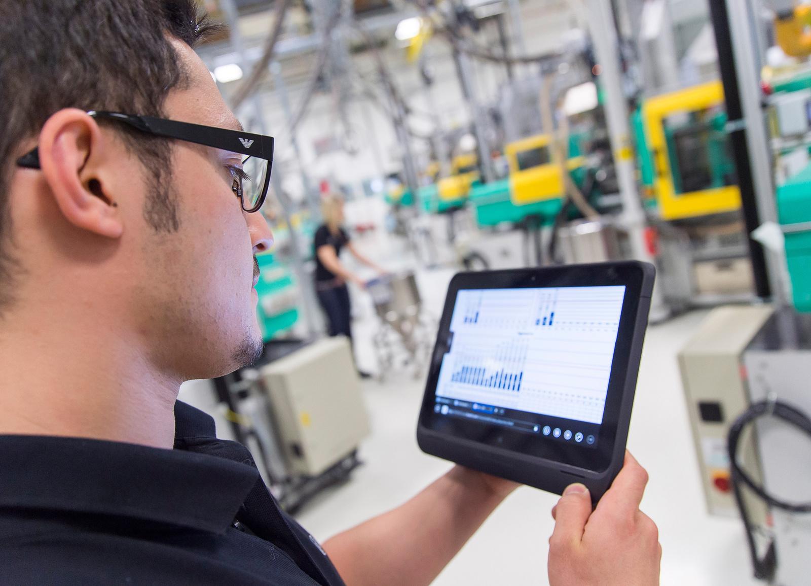 Industrie 4.0 bei Bosch – vernetzte Fertigung