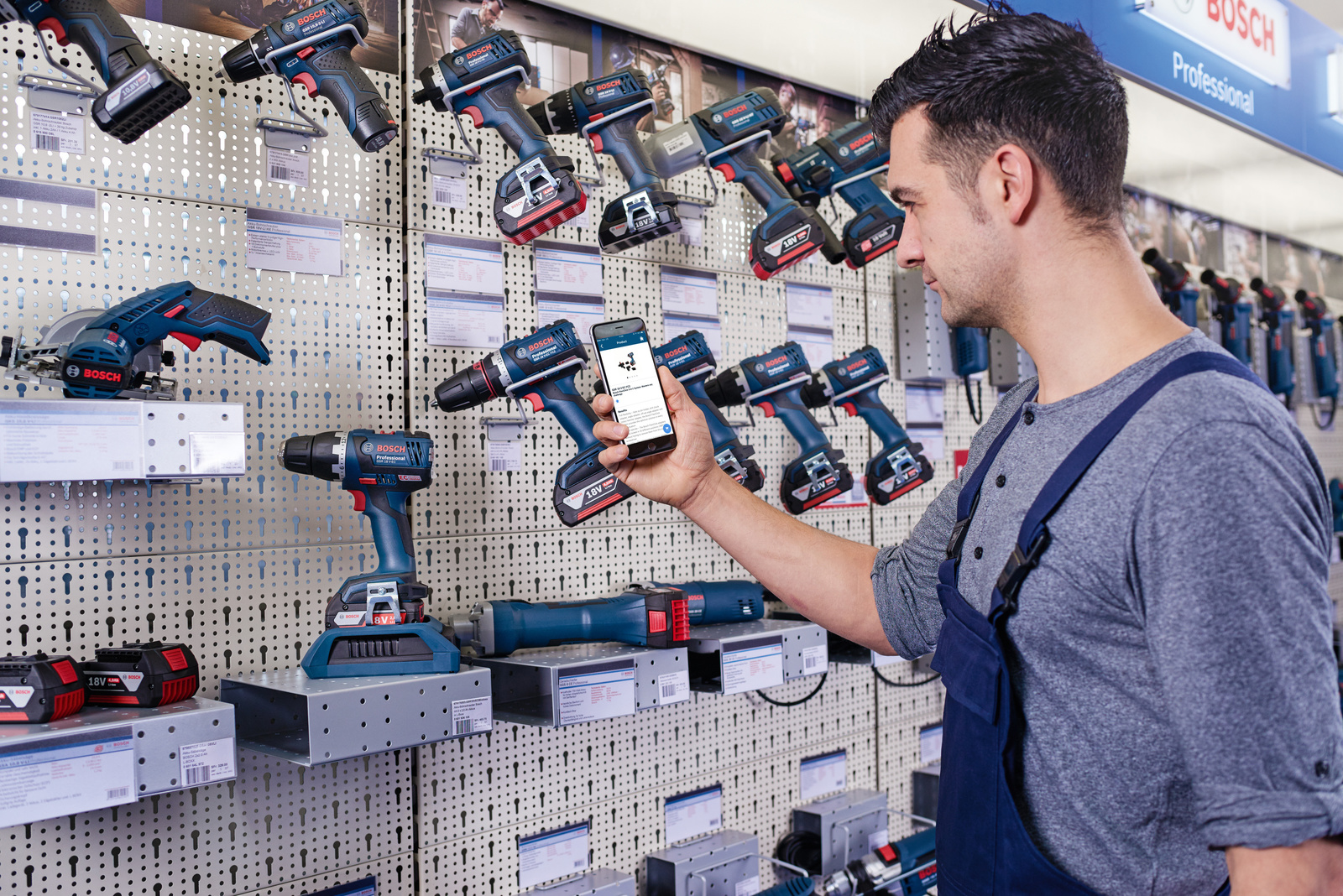 Connected power tools