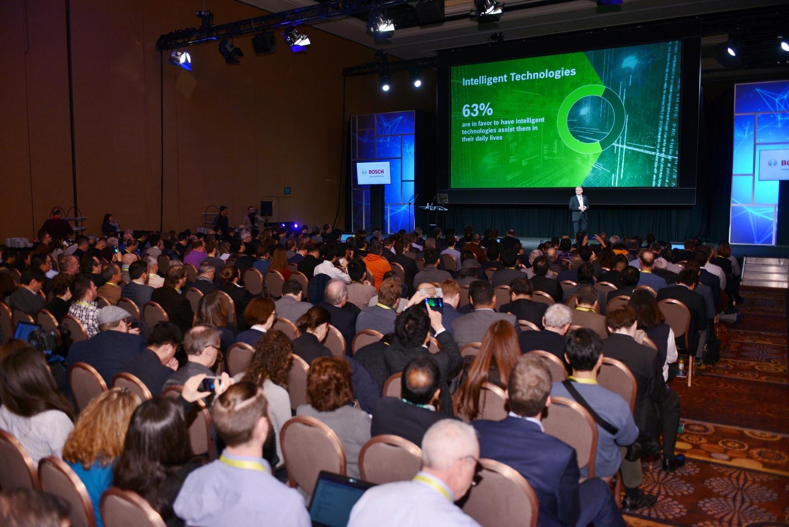Bosch-Pressekonferenz auf der CES 2017