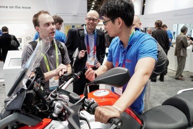 Bosch at CES 2017: Four CES Innovation Awards for Bosch motorcycle solutions