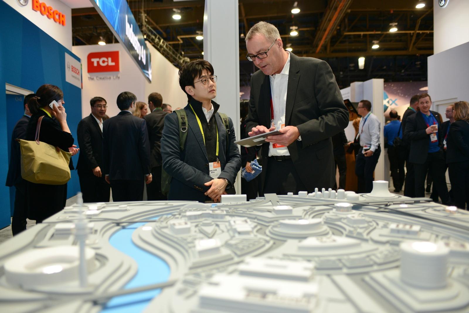 Bosch auf der CES 2017: Lösungen für die intelligente Stadt