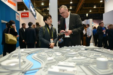 Bosch at CES 2017: Solutions for the smart city