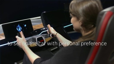 Bosch at CES 2017: New concept car with Driver Monitor
