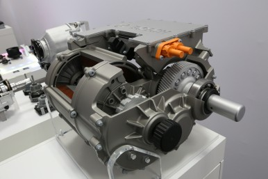 The electric axle drive system (eAxle) makes electrification accessible for the masses