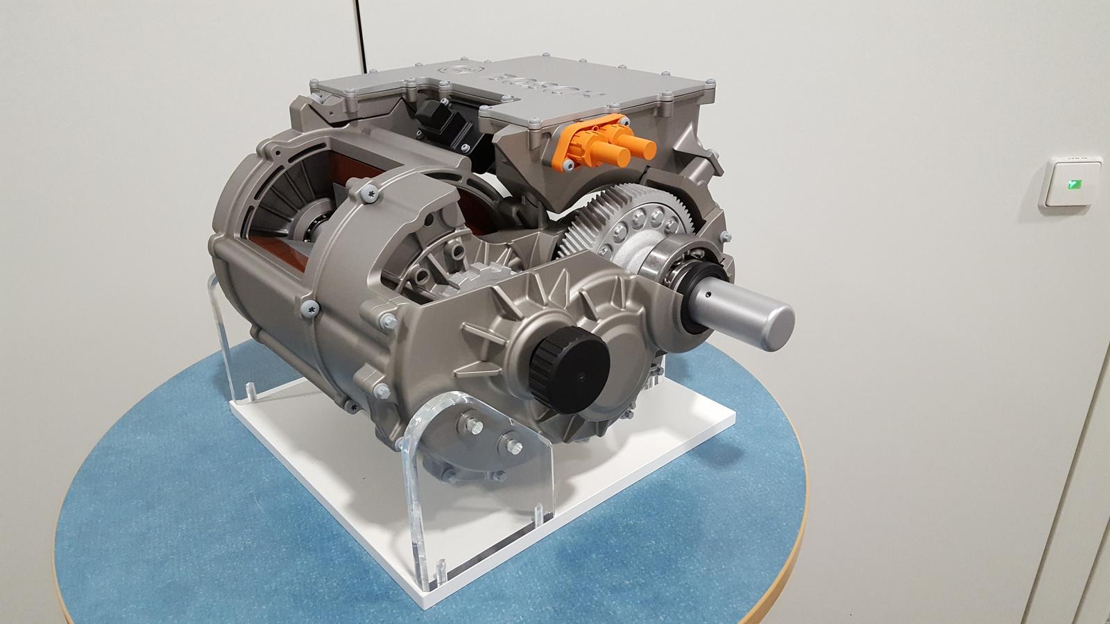 Das elektrische Achsantriebssystem (eAxle) von Bosch