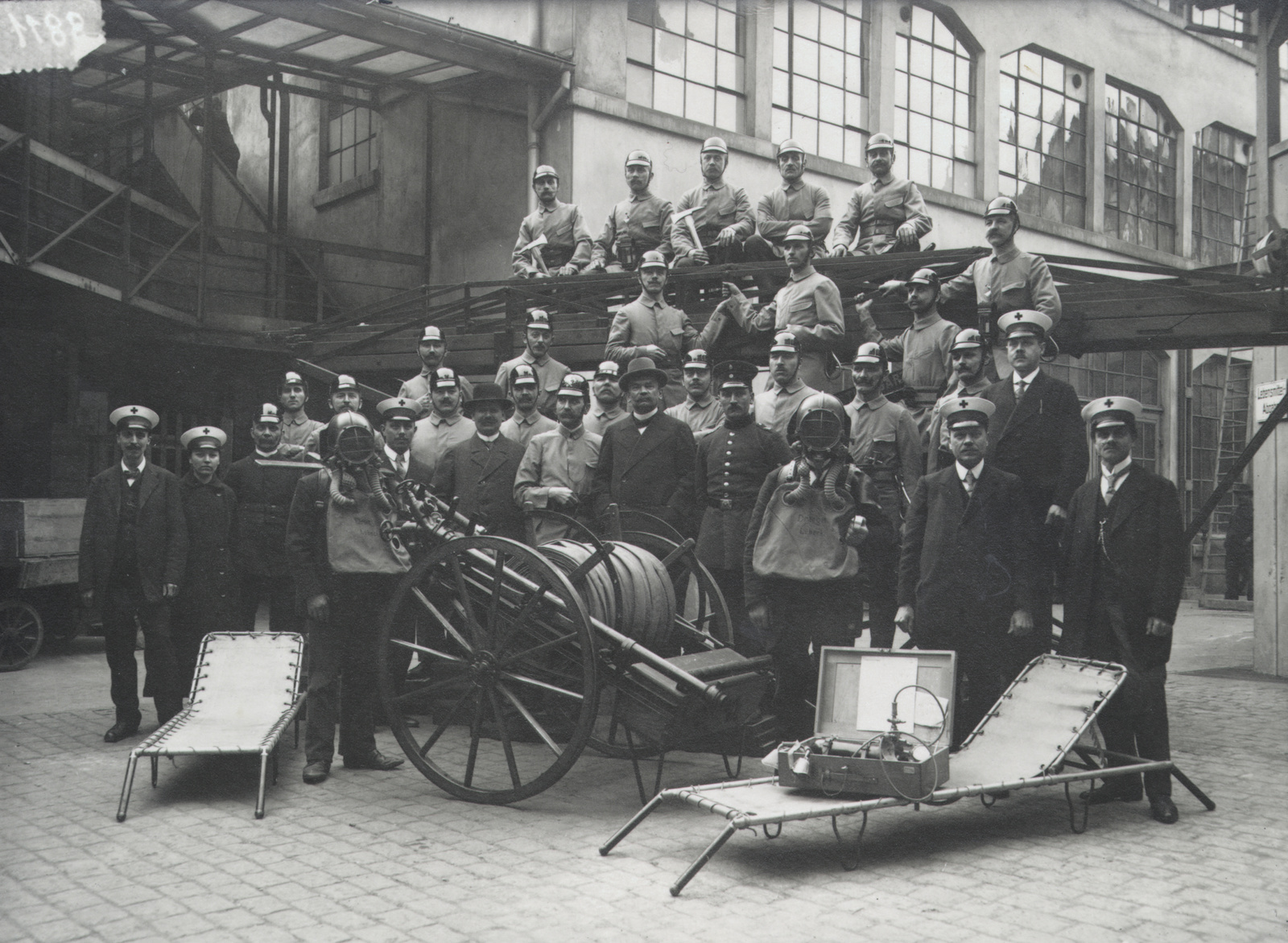 100 years of the Bosch plant fire service