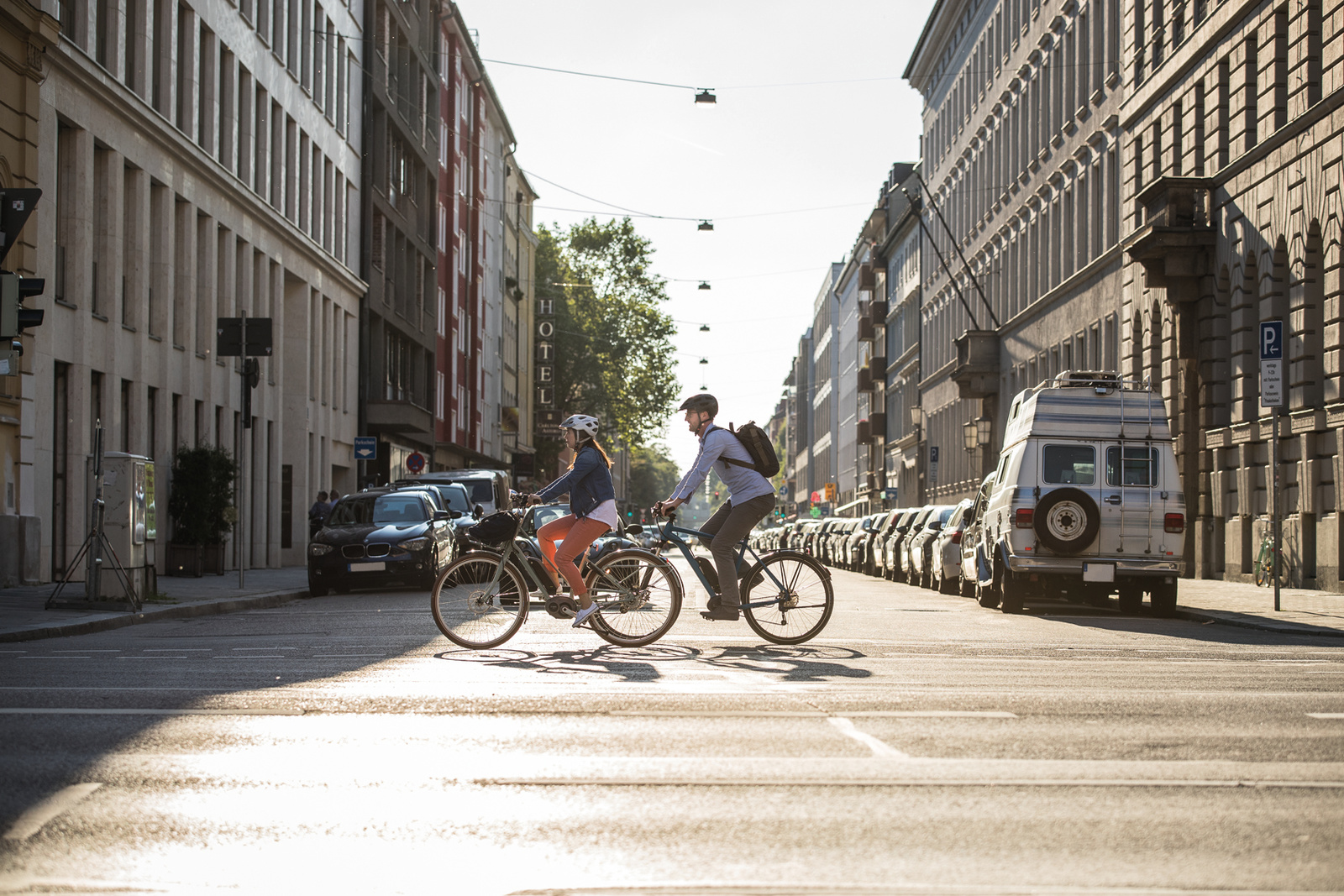 A reason to celebrate: together with its partners and customers, Bosch established the eBike as the fastest and most effective means of transport in urban areas.