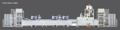 Hygienically designed Mogul plant for easy cleaning