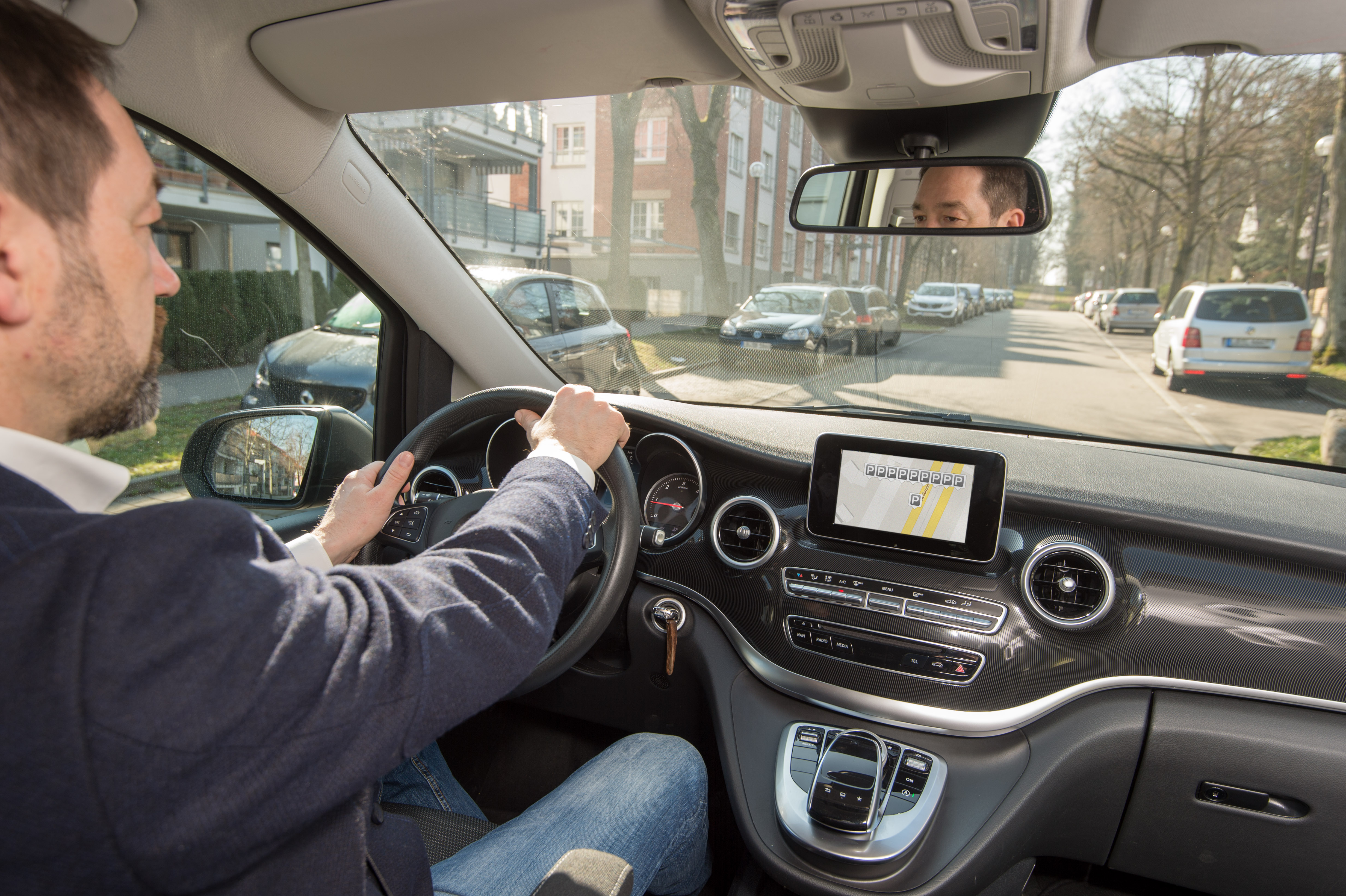 Saving valuable time with the Bosch connected parking function