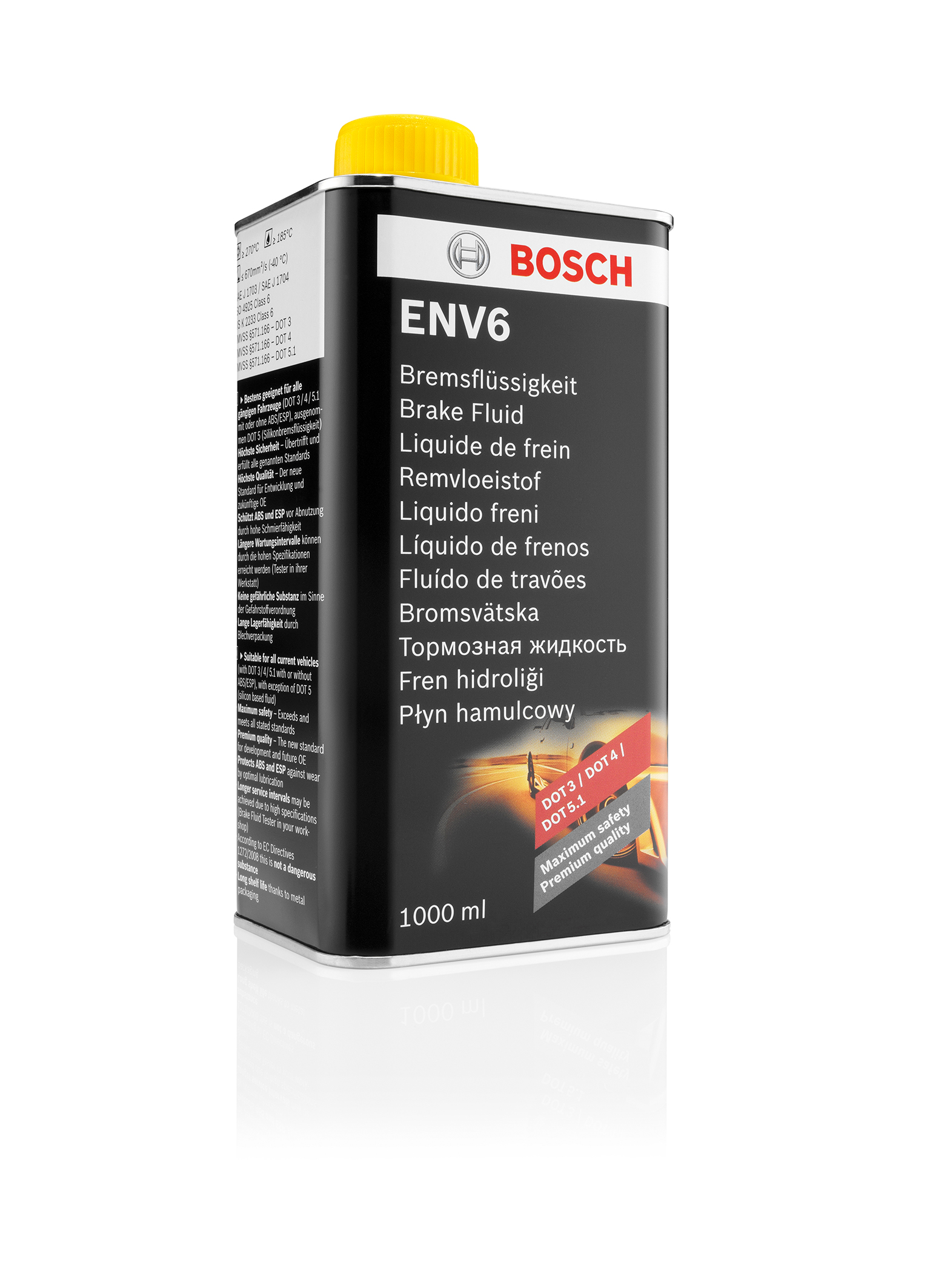 High performance brake fluid Bosch ENV6