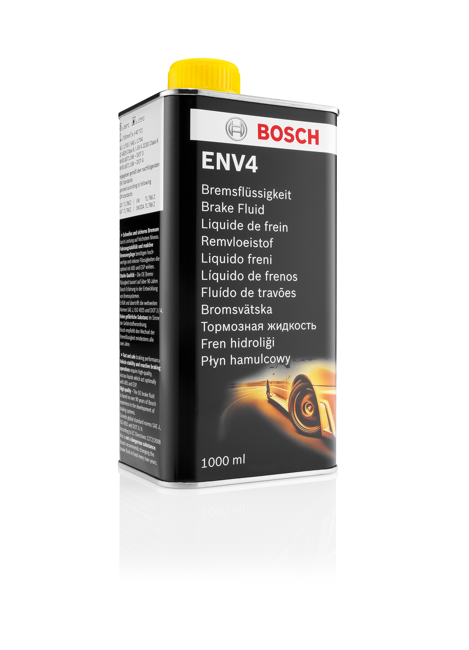 High performance brake fluid Bosch ENV4