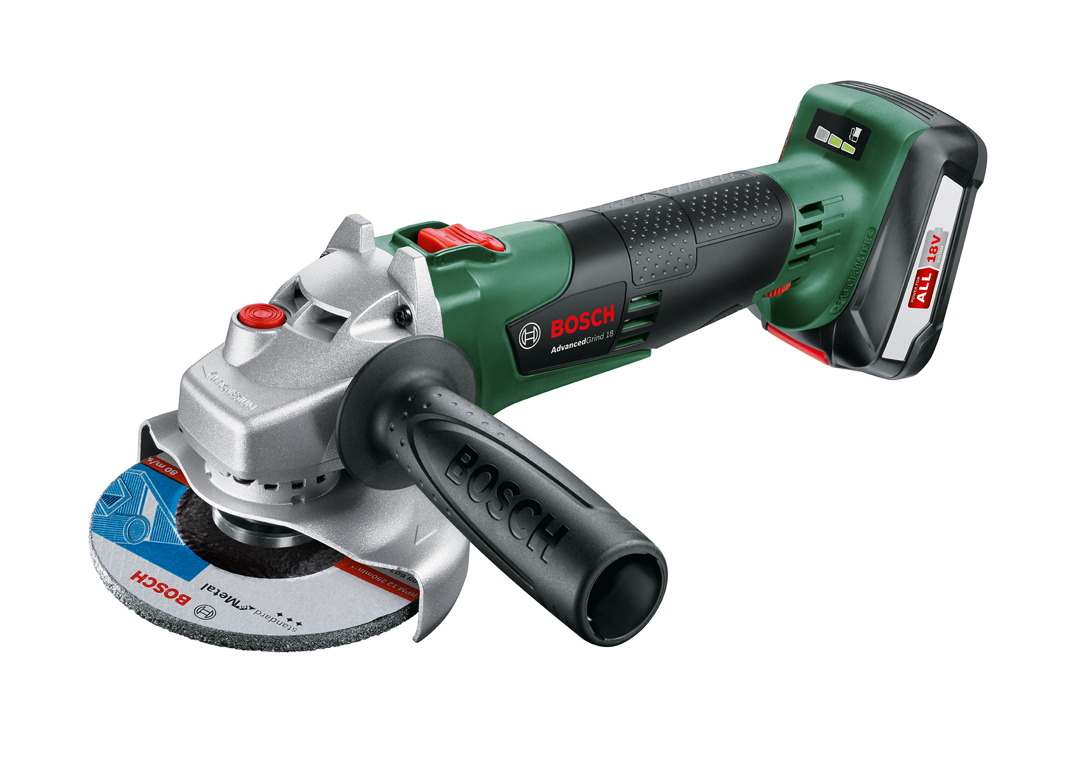 Flexibility with maximum control and high user protection: AdvancedGrind 18 from Bosch for do-it-yourselfers