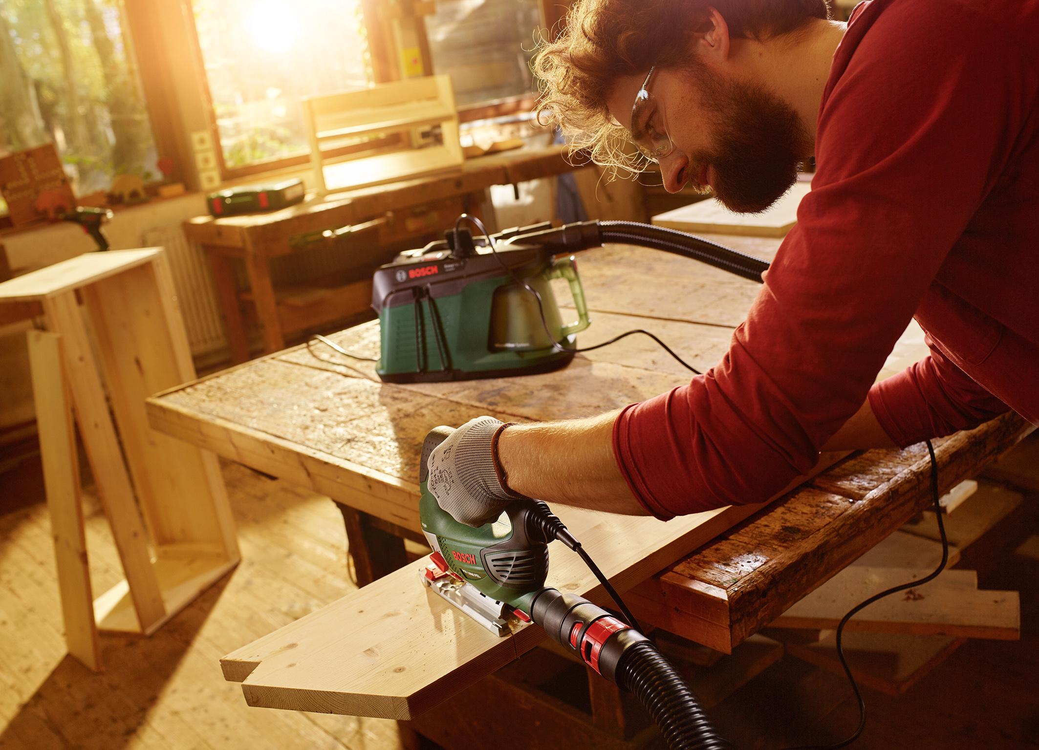 Trockensauger für die Werkstatt: der EasyVac 3 von Bosch für Heimwerker