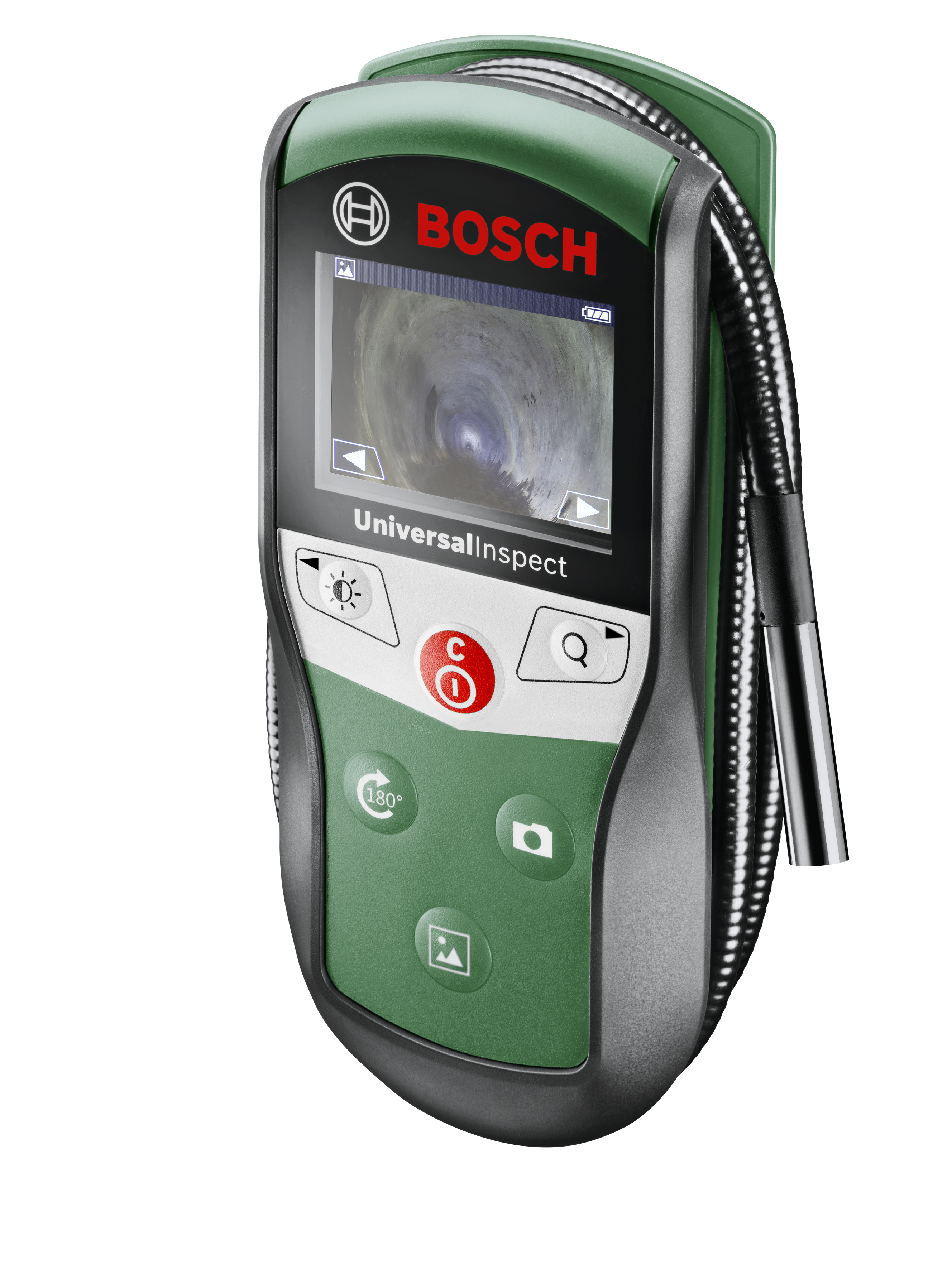 New product in the detection range for DIY enthusiasts: UniversalInspect inspection camera from Bosch