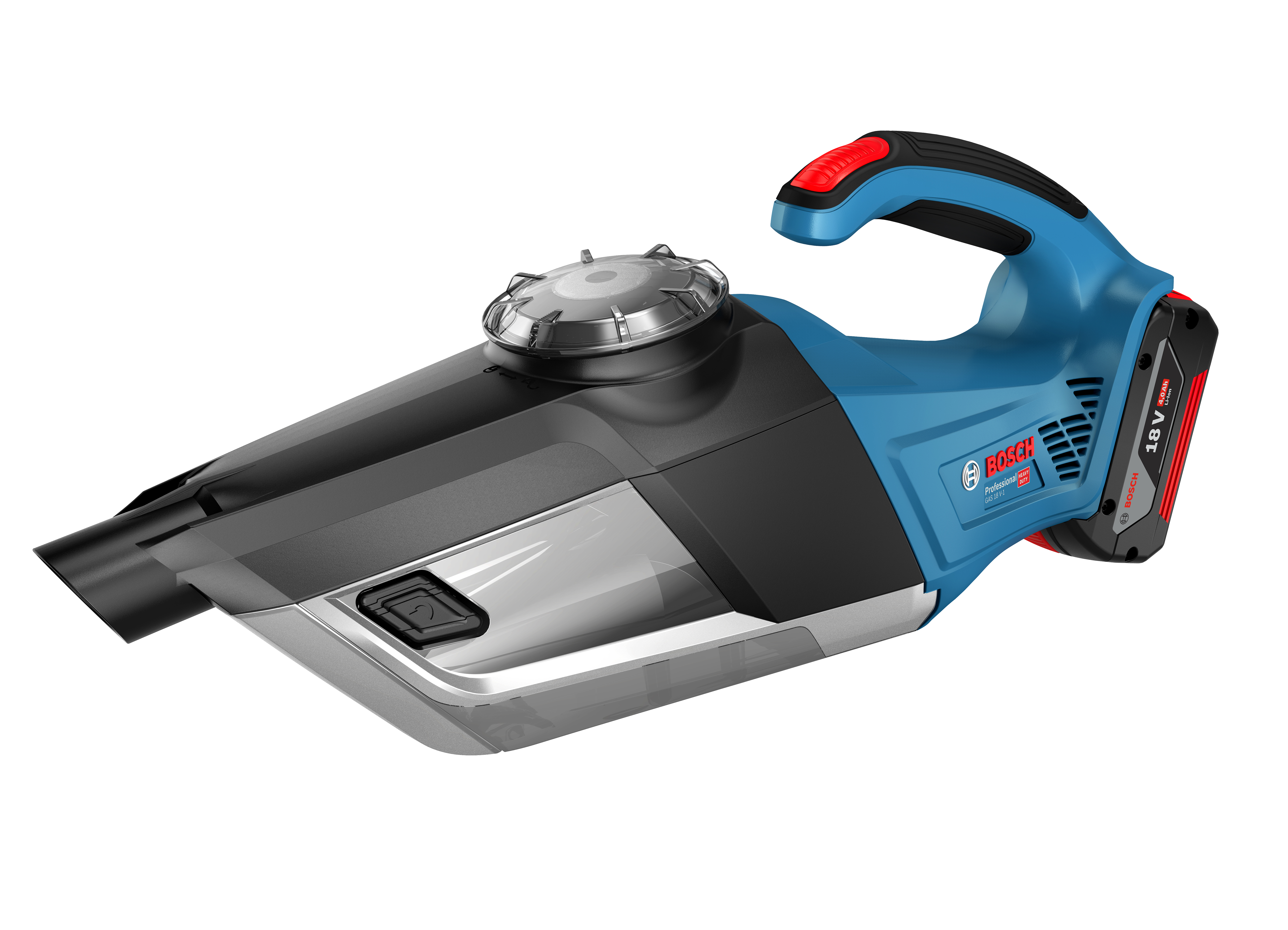 Dry extractor for rapid final cleaning: the GAS 18V-1 Professional from Bosch for professionals