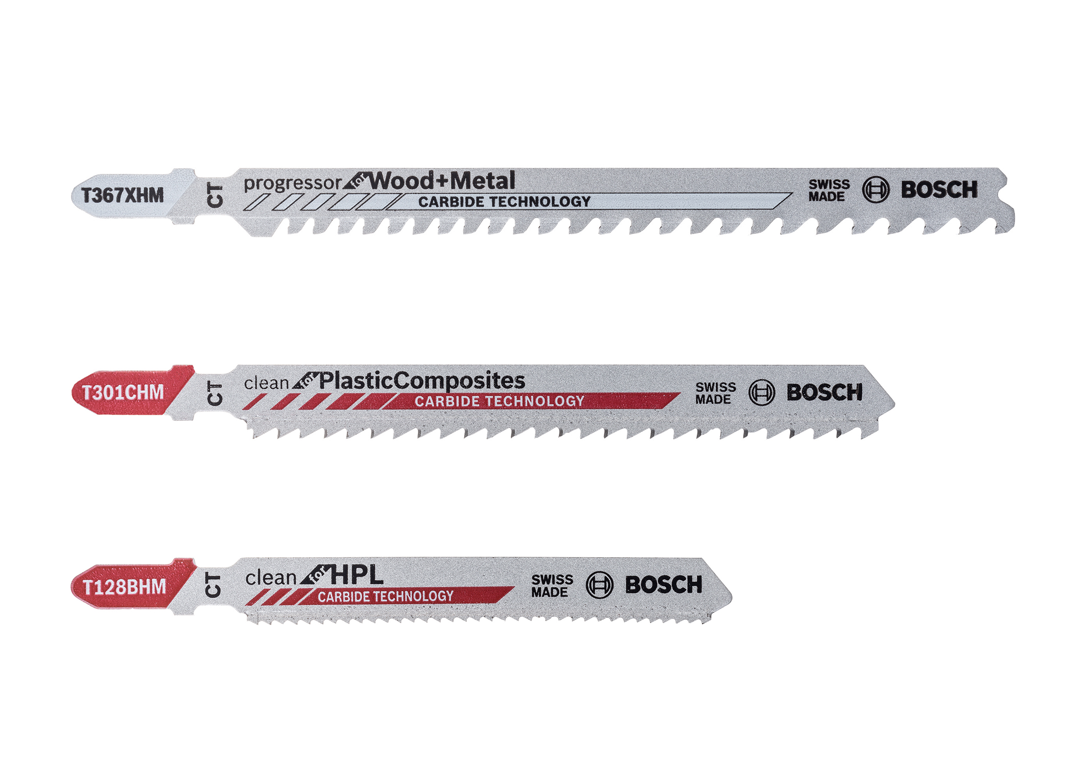 For an even wider range of applications: new Bosch jigsaw blades with carbide technology