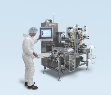 Reliable serialization: CPS 1900 with checkweigher and Tamper Evident