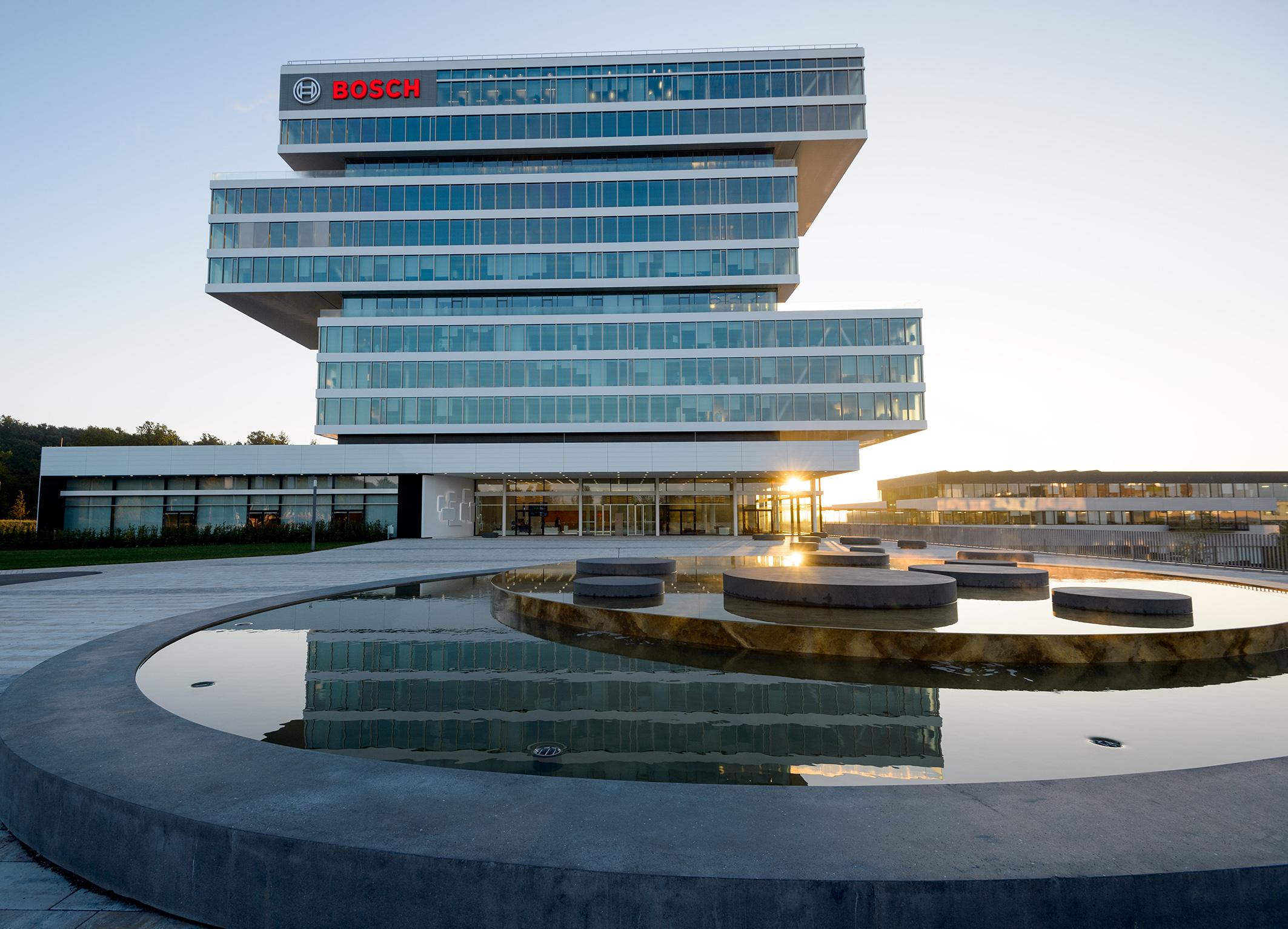 Der Forschungscampus in Renningen ist der Knotenpunkt eines globalen Forschungsnetzwerks bei Bosch