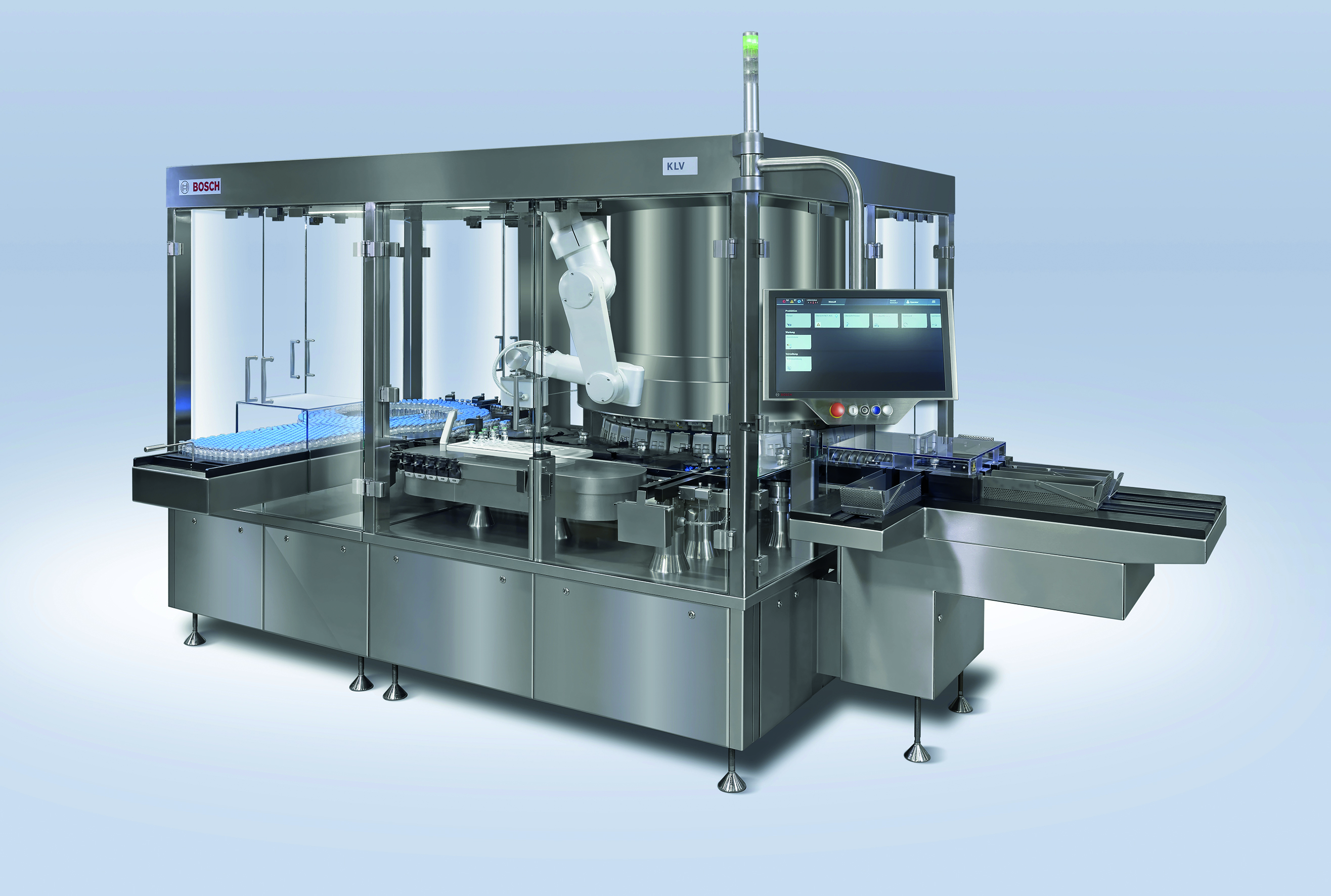 New KLV series for leak detection of rigid glass containers