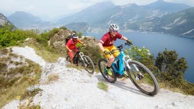 Start of the mountain bike season in Riva del Garda