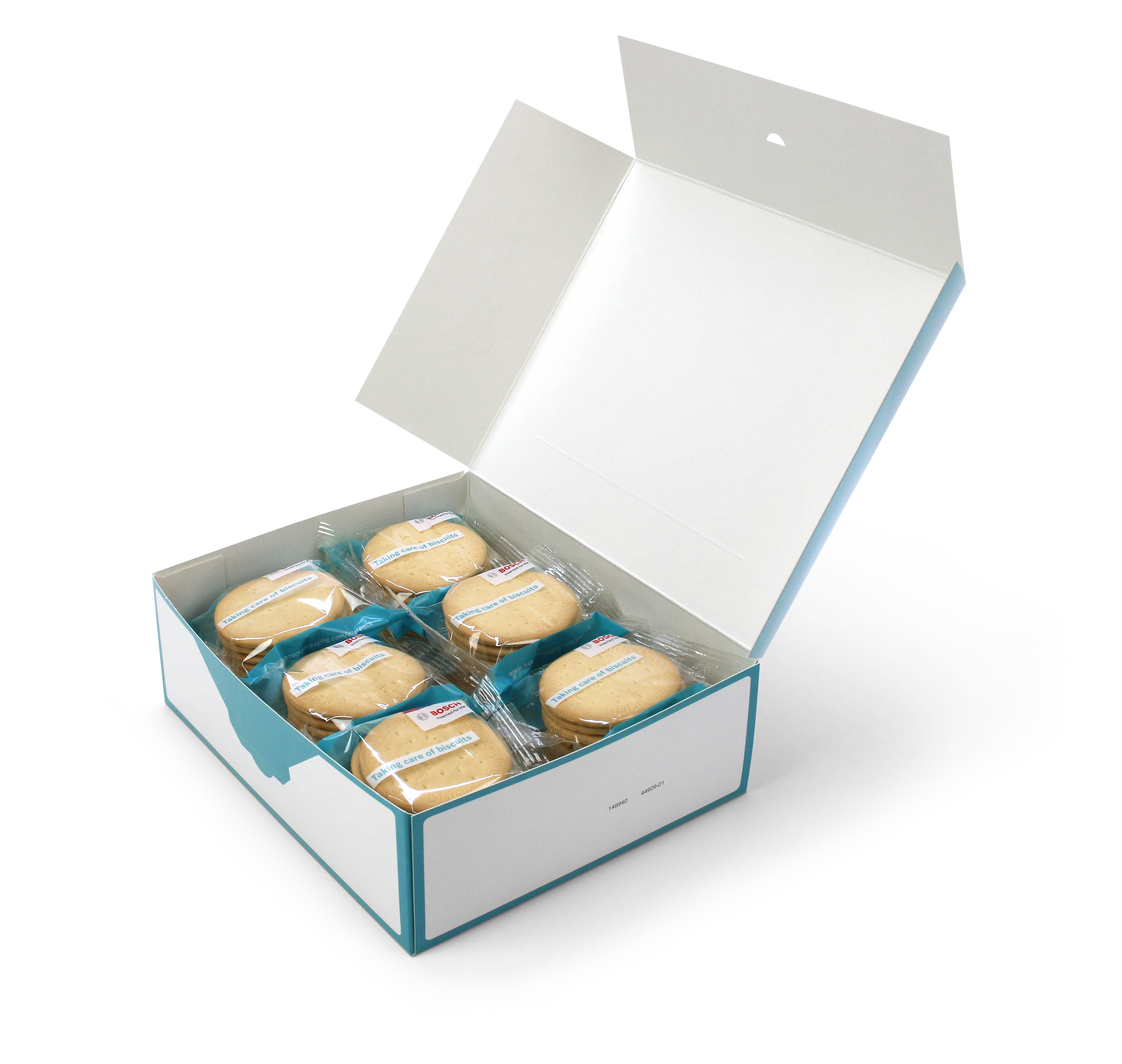 New Biscuit-on-pile packaging system