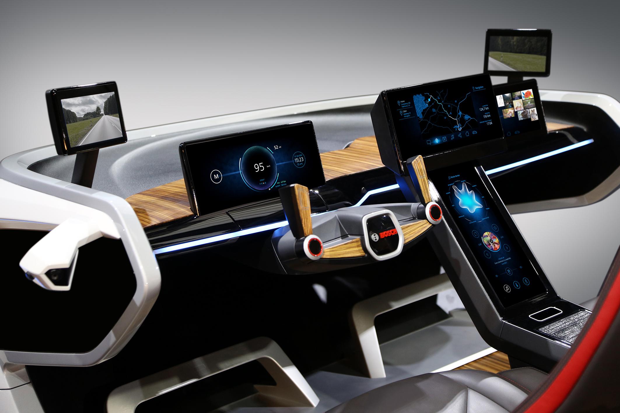 Mehr Individualität und eine einfache Bedienung – das zeigt Bosch in seinem neuen Konzeptfahrzeug.