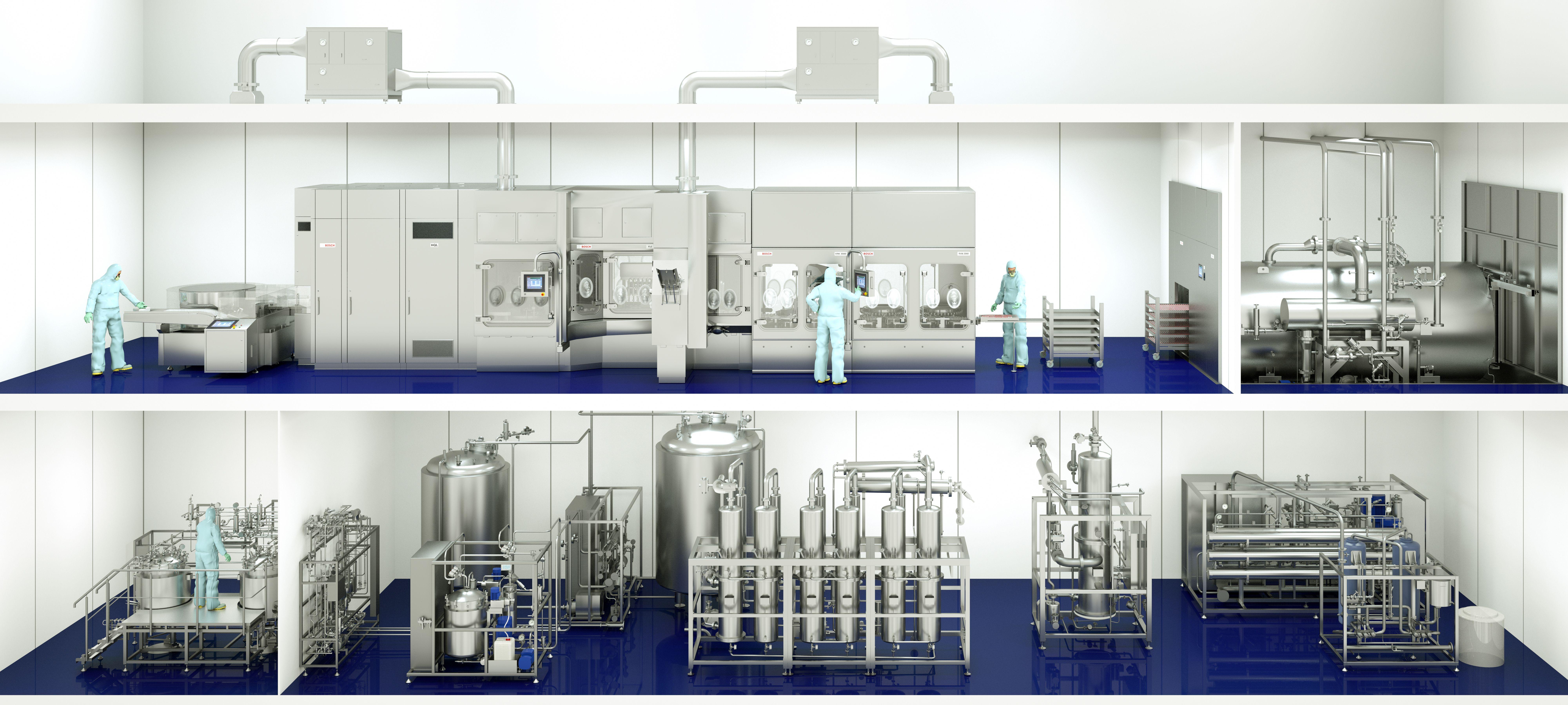 Linienkompetenz für flüssige Pharmazeutika