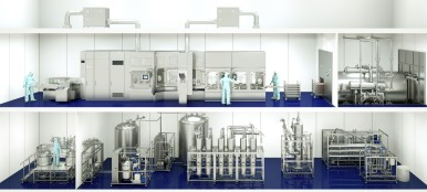 Line competence for liquid pharmaceuticals