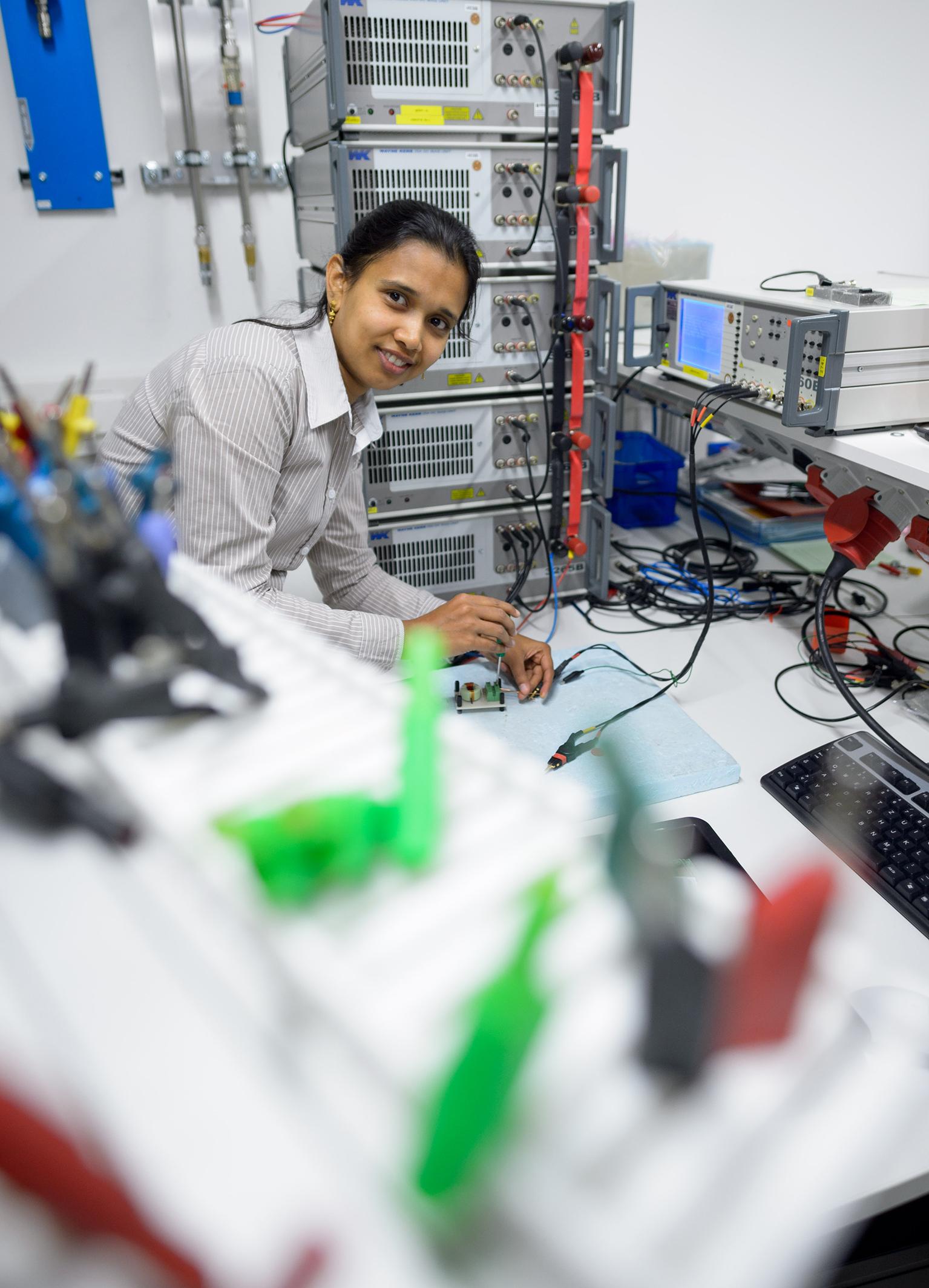 Bosch research: Jayalakshmi Kedarisetti