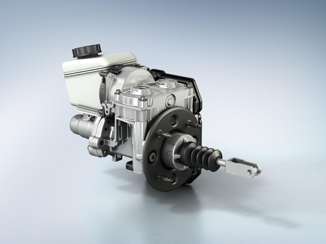 Ibooster Intelligent Verst 228 Rkte Bremskraft Bosch Media