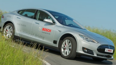 With these components, Bosch is automating driving