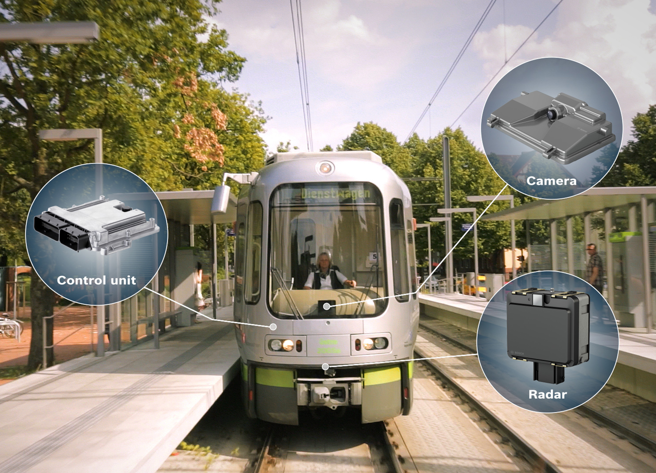 Bosch technology is increasing safety in cities